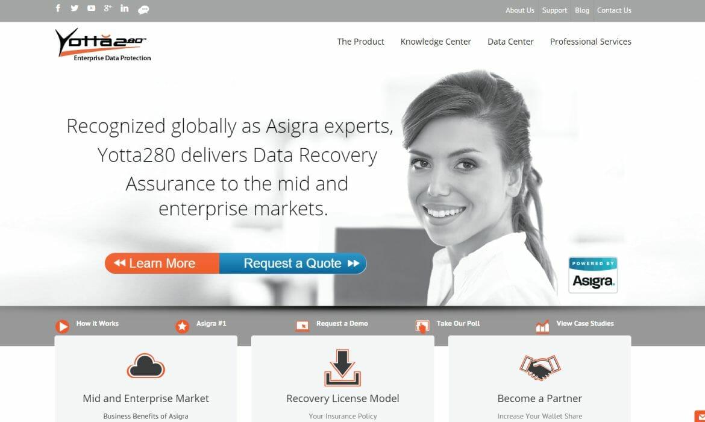 Yotta280 Website Redesign