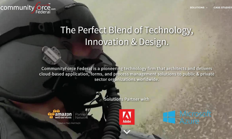 CommunityForce Federal Website