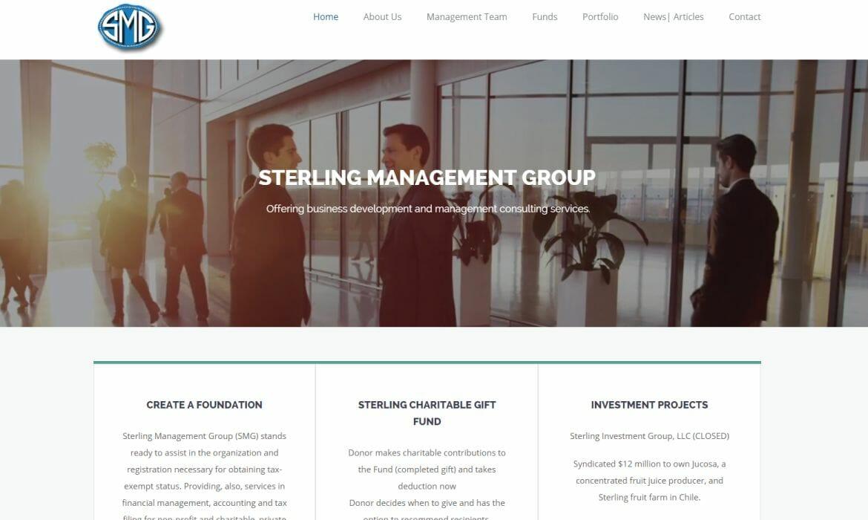 Sterling Management Website Redesign