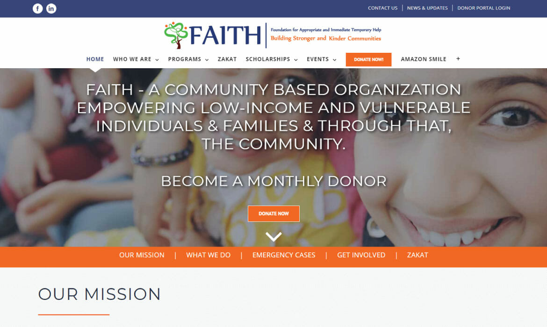 FAITH Website