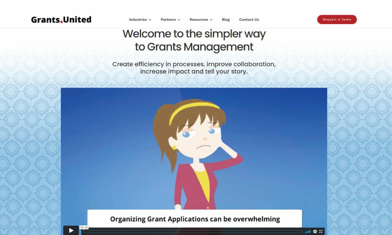 Grants United Website