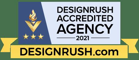 DesignRush Agency Badge